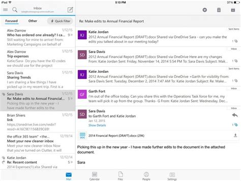 Microsoft Outlook debuts as free download for iPhone, iPad