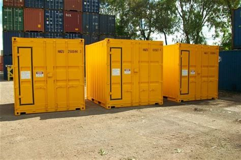 10FT DANGEROUS GOODS STORAGE CONTAINER 3 METRE - Shipping