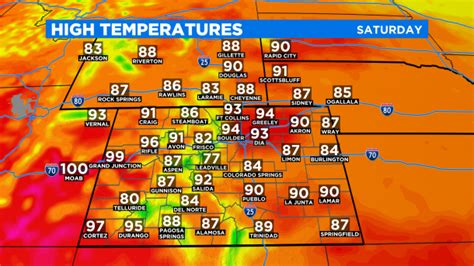 Colorado Weather: Dry With More Smoke And Haze, Few Severe