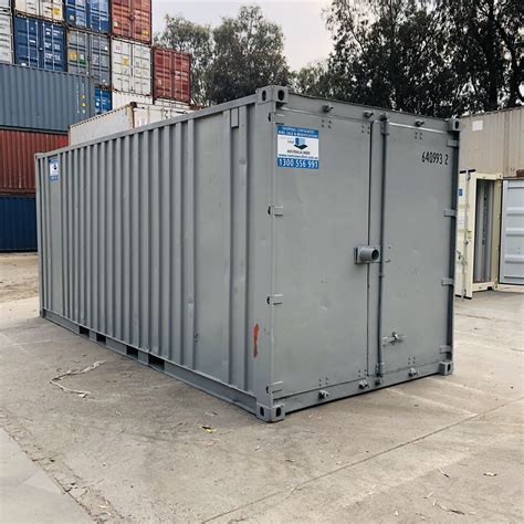 20ft Standard Used Shipping Container with Racking