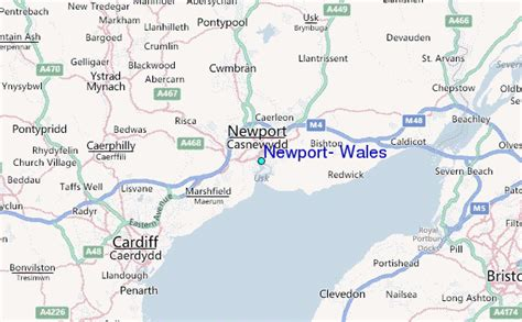 Newport, Wales Tide Station Location Guide