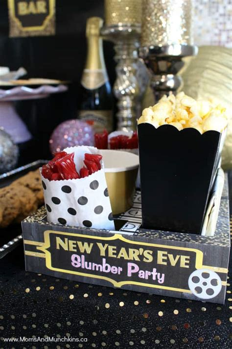 New Year's Eve Slumber Party for Kids