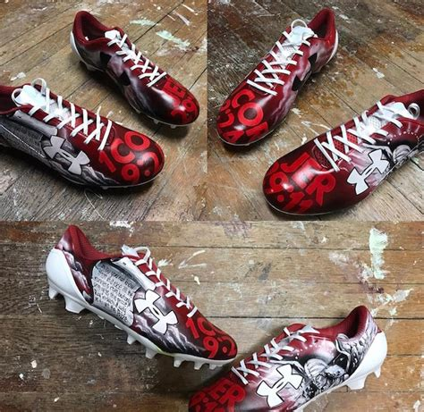The Customized Football Cleats Worn in Super Bowl 51