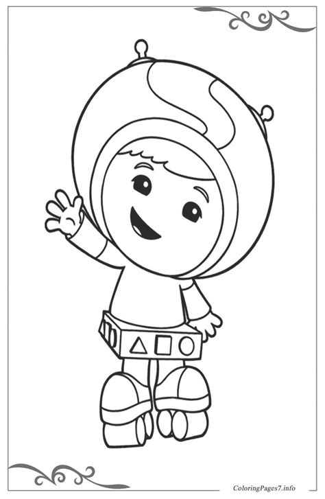 Team Umizoomi Coloring Pages for children