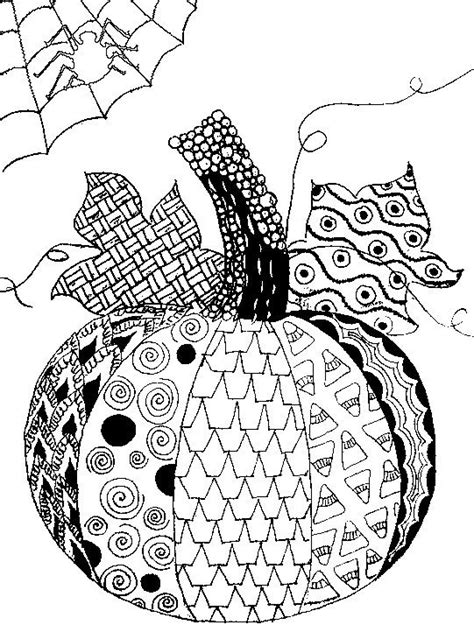 Adult Halloween Coloring Pages - Coloring Home