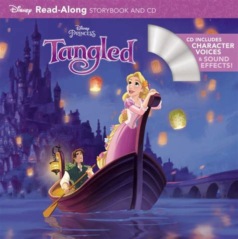 Tangled Read-Along Storybook and CD by Disney Book Group