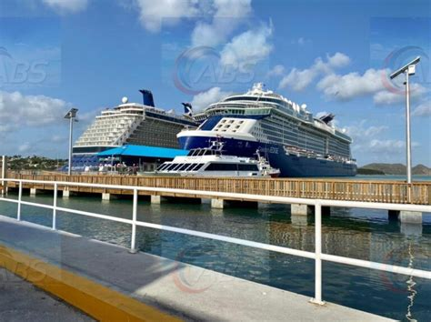 SECOND CRUISE SHIP DOCKS FOR LAY-UP | ABS TV Radio Antigua