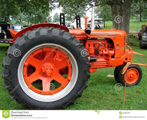 Vintage Case Tractor Editorial Stock Image - Image: 22558359