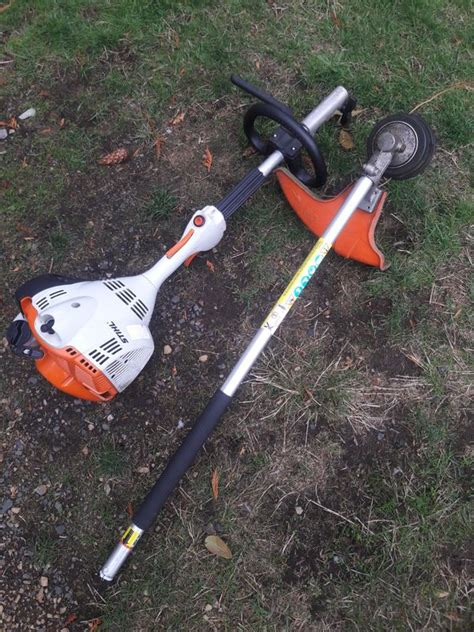 Stihl weed eater in good condition able to accept other