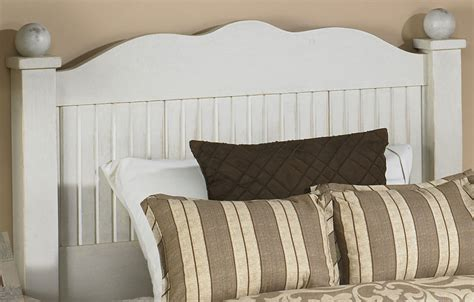 French Country Beadboard Bed | French Country Bedroom