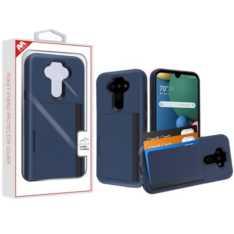 Mybat Poket Hybrid Protector Cover With Back Film For Lg