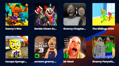 Granny Chapter Two,Barbie Clown Neighbor,Scream Granny,The