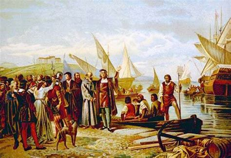 Christopher Columbus - The first voyage | Britannica