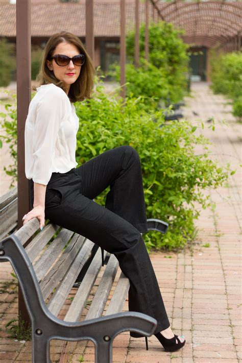 Classic chic style (fashion spring outfit)