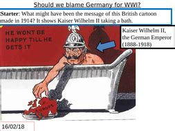 WWI- should we blame Germany for WWI by angus_ross271