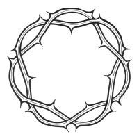 Crown Of Thorns Clipart - Cliparts