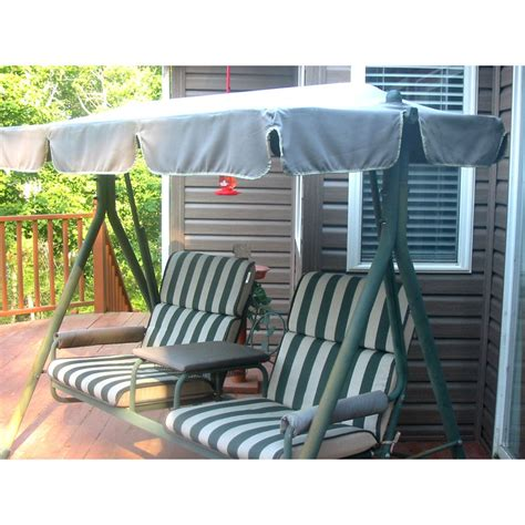 Walmart 2 Seater with Arm Rest Swing Replacement Canopy