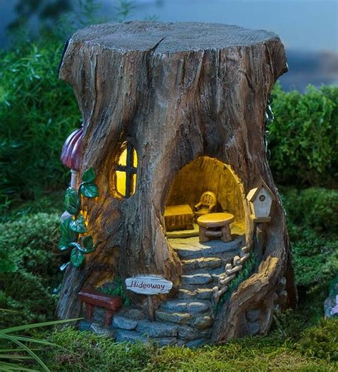 How To Have Fun With Garden Tree Stumps In Awesome Ways