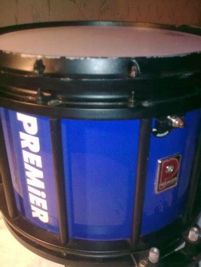 Set Of 6 High Tension Pipe Band Type Premier Hts 700 Drums