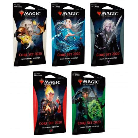 MTG: Core Set 2020 Theme Booster - Set of 5 | Trading Card
