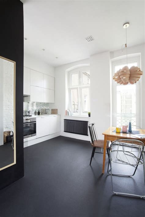 Small Apartment In Poznan, Poland Showcases Cool