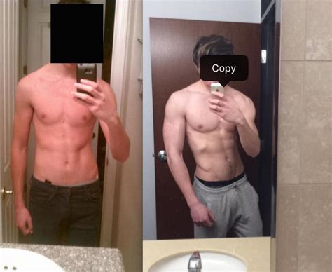 What does a 140 lbs, 6 foot 5 male look like