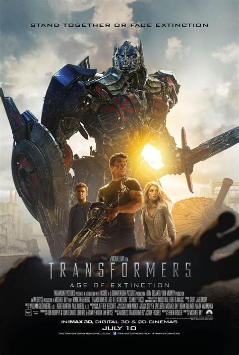 Three New Posters for Transformers: Age of Extinction - IGN
