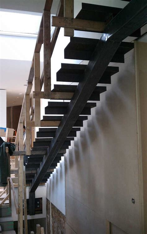 Detail – interior stair « home building in Vancouver