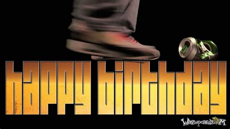 Cool Beer Animation as Happy Birthday greeting - YouTube