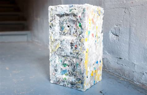 Plastic Bricks Made From Used Plastic Water Bottles