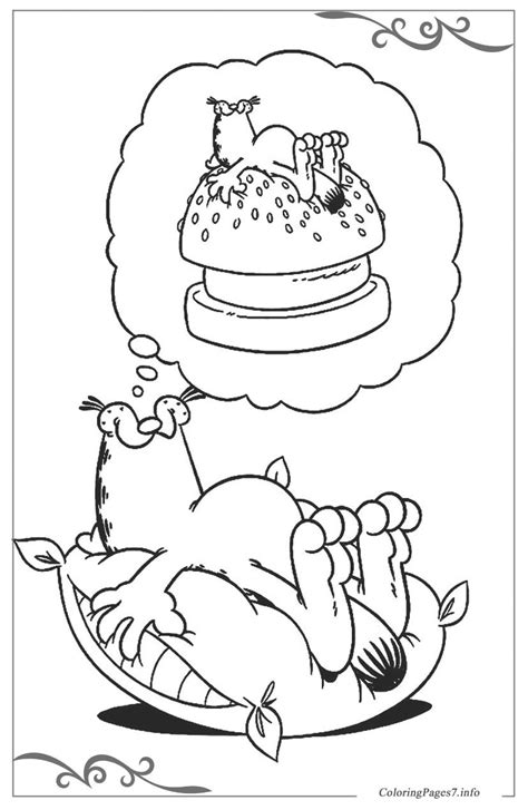 Garfield Printable Coloring Pages for Kids