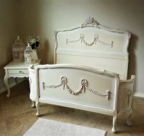 Ornate Antique 1900's French Double/ Full size Bed