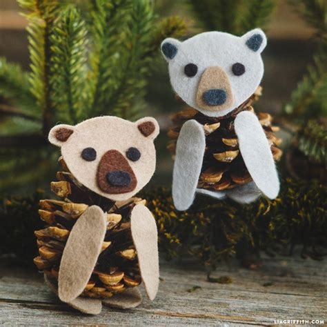 Our Pinecone Craft Round Up - Lia Griffith