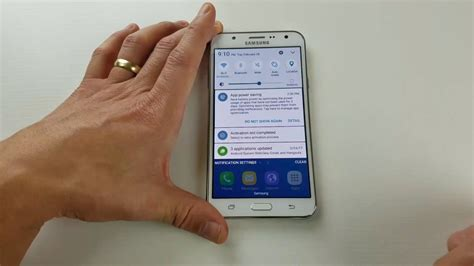 Galaxy J7: How to Enable USB Debugging Mode - YouTube