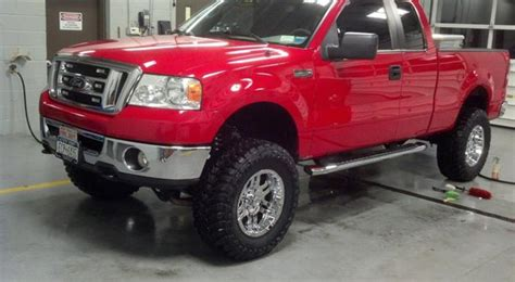 Ford F-150: Lift and Level Modifications   Ford-trucks