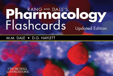 Download Rang & Dale's Pharmacology Flash Cards Updated