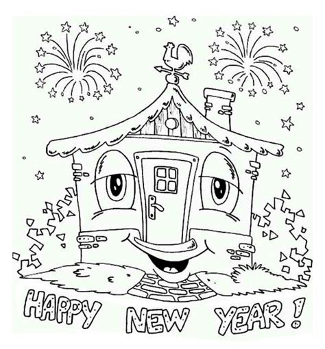 Get This Free Printable New Years Coloring Pages Online