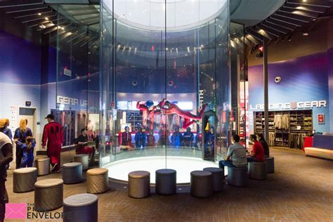 iFly Indoor Skydiving Experience - The Pink Envelope