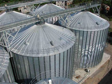 Steel silos - HXT (China Manufacturer) - Agriculture