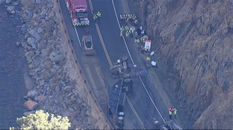 Semi Crash Closes Highway 34 In Big Thompson Canyon For
