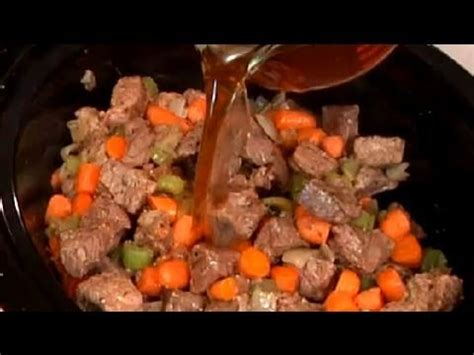 Slow Cooker Beef Stew With Baby Carrots Recipe : Beef Stew