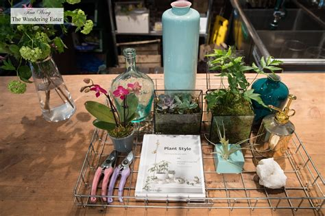 NYC Apartment Plant Styling Workshop at PlantShed (NYC