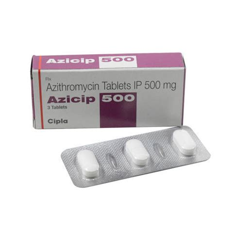 Azithromycin Tablets IP at Rs 27/piece | Azithromycin