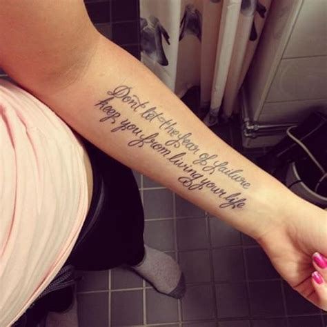 Pin by John Wolfman on Best Quote Tattoos | Tattoos