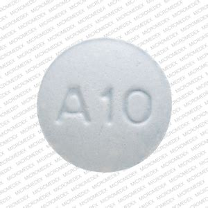 M A10 Pill Images (Blue / Round)