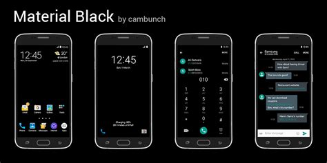 [THEME] Material Themes by cambunch   Samsung Galaxy S6