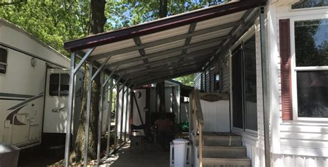 Interested In A Simplistic Metal Lean-To Carport?