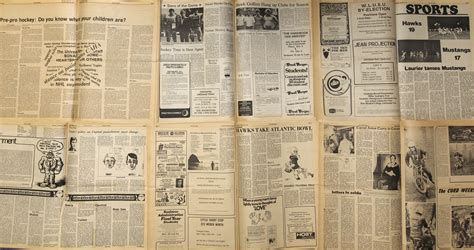 For the love of newspapers – The Cord