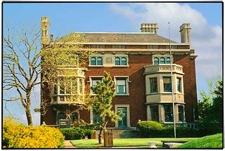 Cleveland OH ~ Mather Mansion ~ 1997 Film | The mansion at