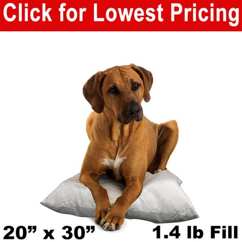 """Dog Bed & Pet Bed Insert - 20"""" x 30"""" (1"""